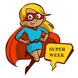 Superweek 2018 vecka 15 (9-15 april)